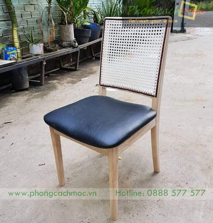 Ghế gỗ cafe MC183